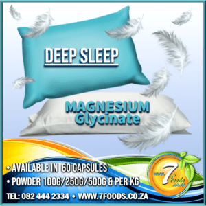 Deep Sleep – Glycinate (Magnesium) Capsules 60