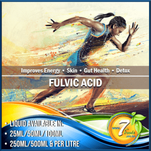 Fulvic Acid 4% – BULK 3Kg (Powder)