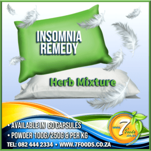 Insomnia Herbal Capsules 60