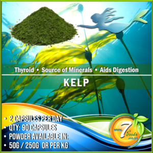 Kelp	– Powder – 50g