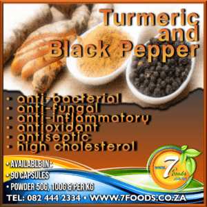 Turmeric & Black Pepper Capsules 90