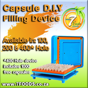 Capsule filler #00 – 400 HOLE plus 2000 free capsules