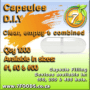 Capsules – Clear, empty, combined – Qty 1000 Size: #00