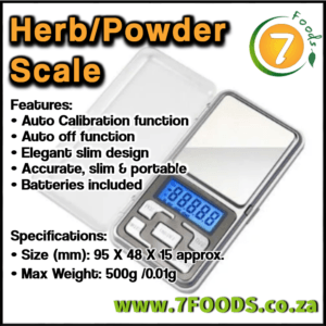 Herb & Powder Scale