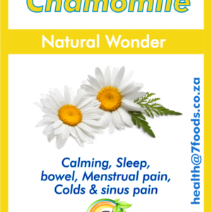 Chamomile – Natural Wonder 60 Capsules