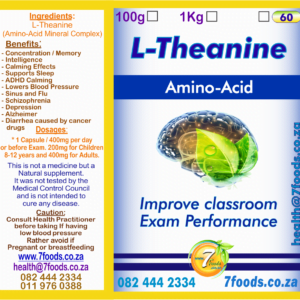 L-Theanine – 'Nootropic' 100g