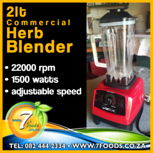 Herb Blender – Commercial 2l